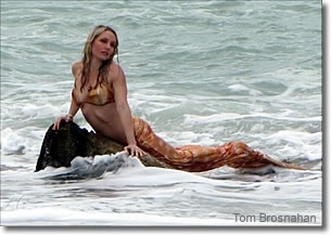 Mermaid, Caspersen Beach, Venice, Florida
