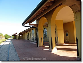 Historic train depot, Venice Florida
