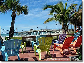 beach-view chairs, Venice Florida