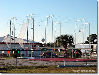 Flying trapeze rig, Venice Florida